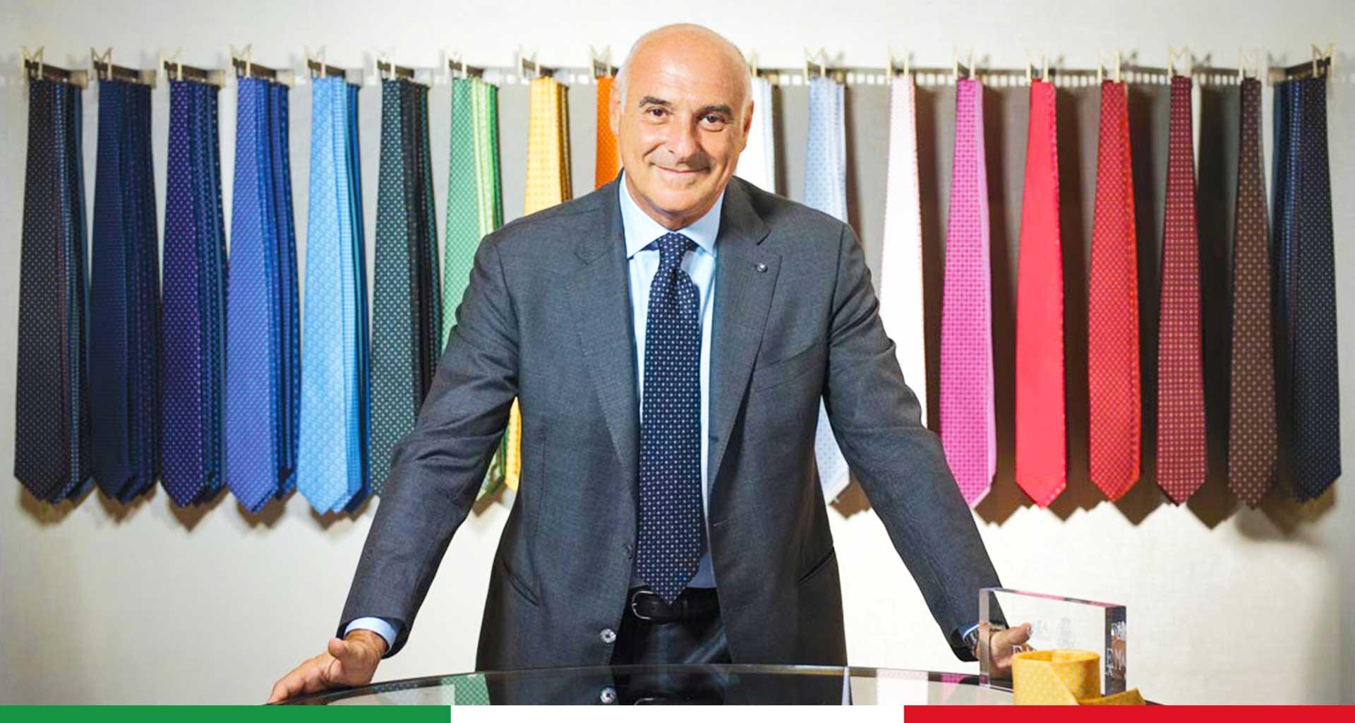 qualità superiore stili freschi negozio outlet Cravatte Marinella realizzate con gli agrumi