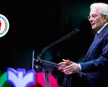Il Presidente della Repubblica Sergio Mattarella, da sempre a sostegno del Made in Italy