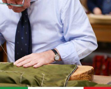 """L'eleganza maschile """"parla"""" napoletano, con la Maison Rubinacci, che firma abiti su misura per gli uomini più raffinati al mondo"""