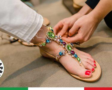 Lusso, comfort e tradizione per i sandali capresi.